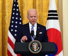 Các nhà lãnh đạo Hoa Kỳ và Hàn Quốc thúc giục Triều Tiên chấm dứt chương trình hạt nhân khi hình ảnh vệ tinh tiết lộ hoạt động gia tăng của nhà máy vũ khí