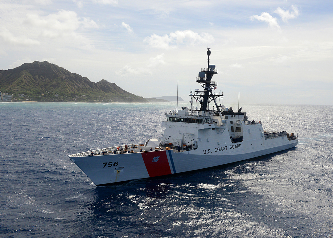 U.S. Coast Guard ready to partner with nations in battling IUU fishing