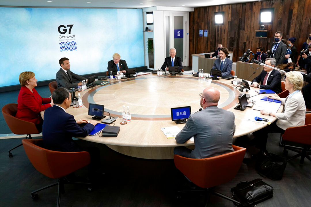 台湾がG7サミット初の支援を歓迎:「善を促進する力になる」