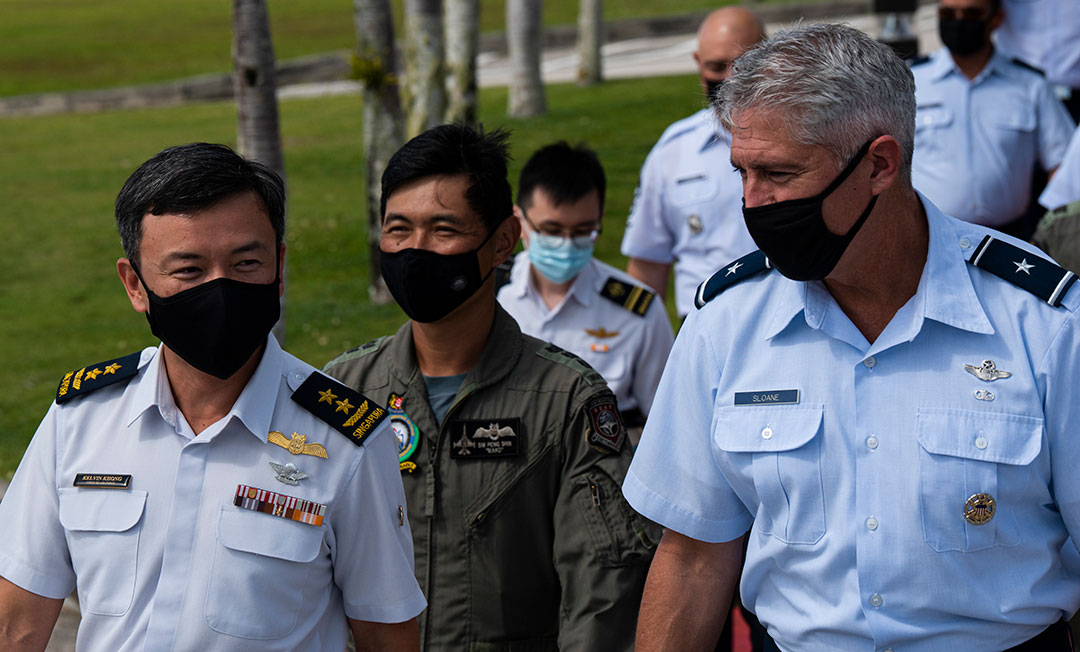 演習により殺傷力、回復力、提携の強化を図る太平洋空軍