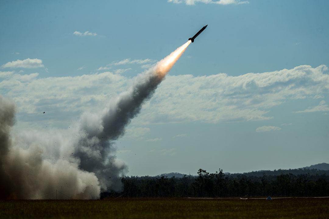 オーストラリアでの米国陸軍の適応性と有効性を実証する歴史的なパトリオットミサイル発射演習(アリッサ・チュルダ上等兵/米国海兵隊)