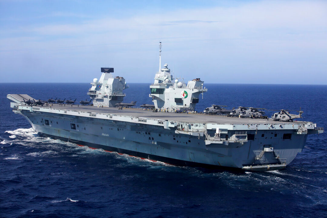Jepang dan Inggris memperluas ikatan pertahanan di laut