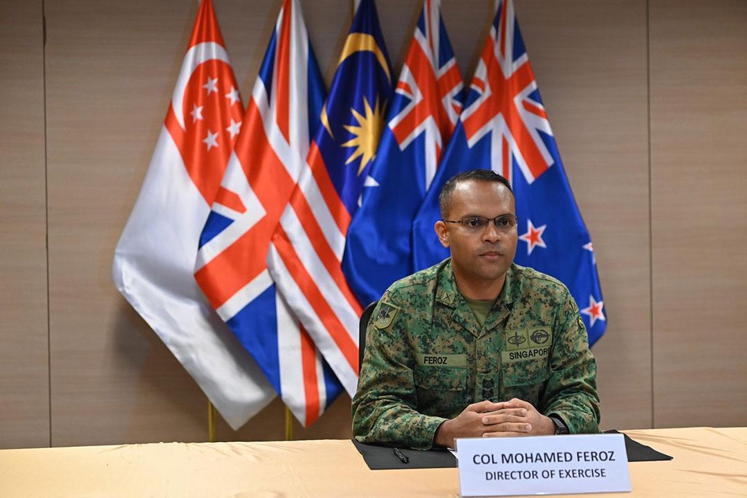 「スーマン・ウォリアー」演習により締結国軍隊の相互運用性の強化を図る「5か国防衛取極」(シンガポール国防省)