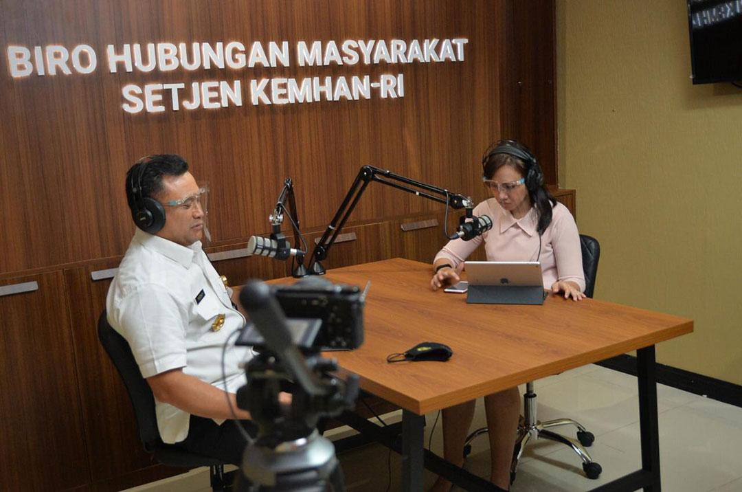 Indonesia menjalin kemitraan melalui keterampilan bahasa