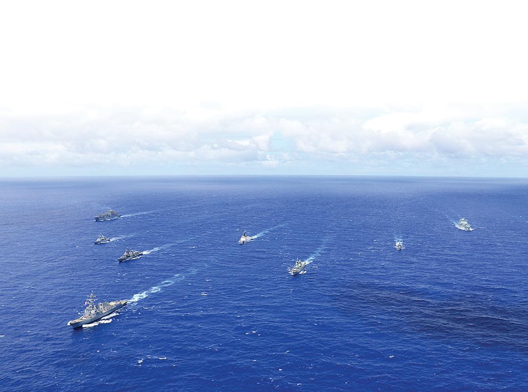 法国的印太 海洋安全