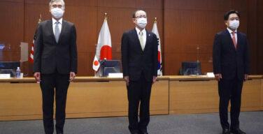 Jepang, Korea Selatan, dan A.S. menyerukan kepada Korea Utara untuk kembali melakukan pembicaraan persenjataan