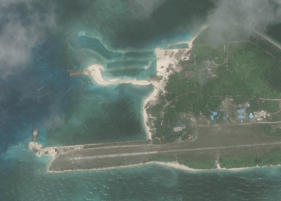 アジア海洋透明性イニシアチブ、マクサー・テクノロジーズ(MAXAR TECHNOLOGIES)