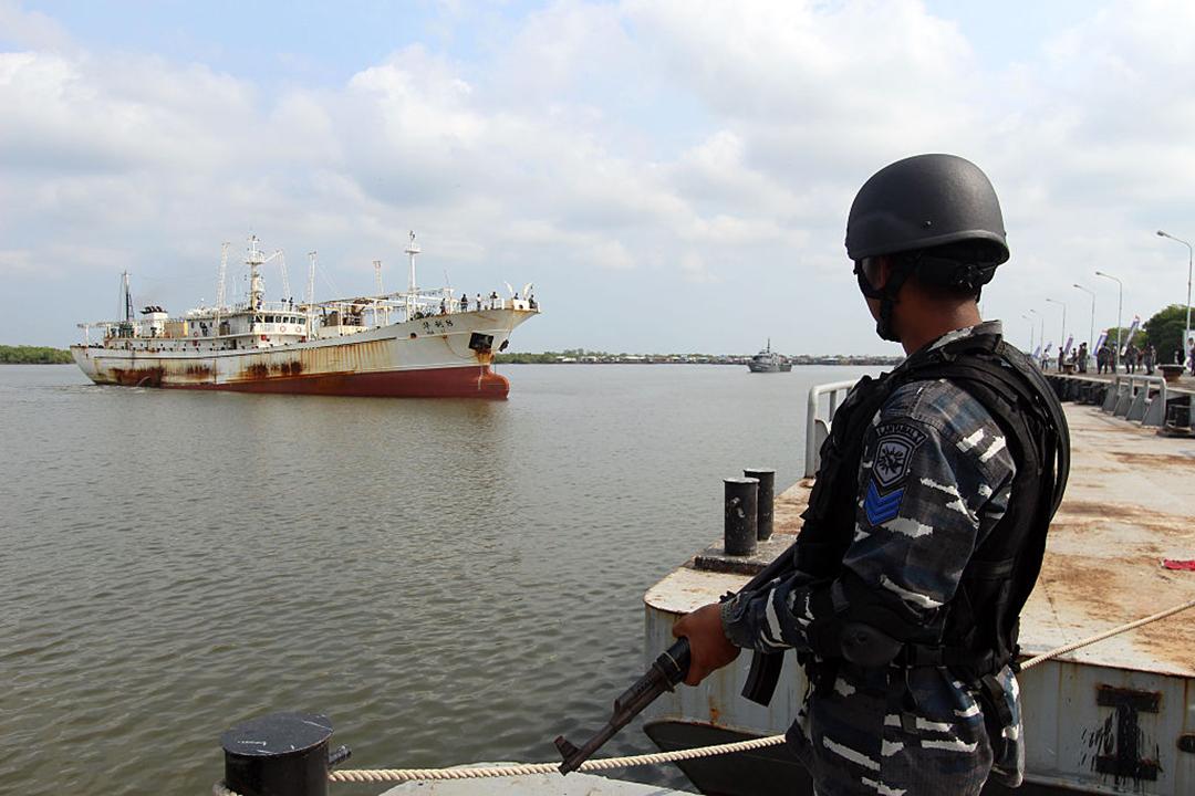 美国应对太平洋地区的非法捕鱼、强迫劳动问题