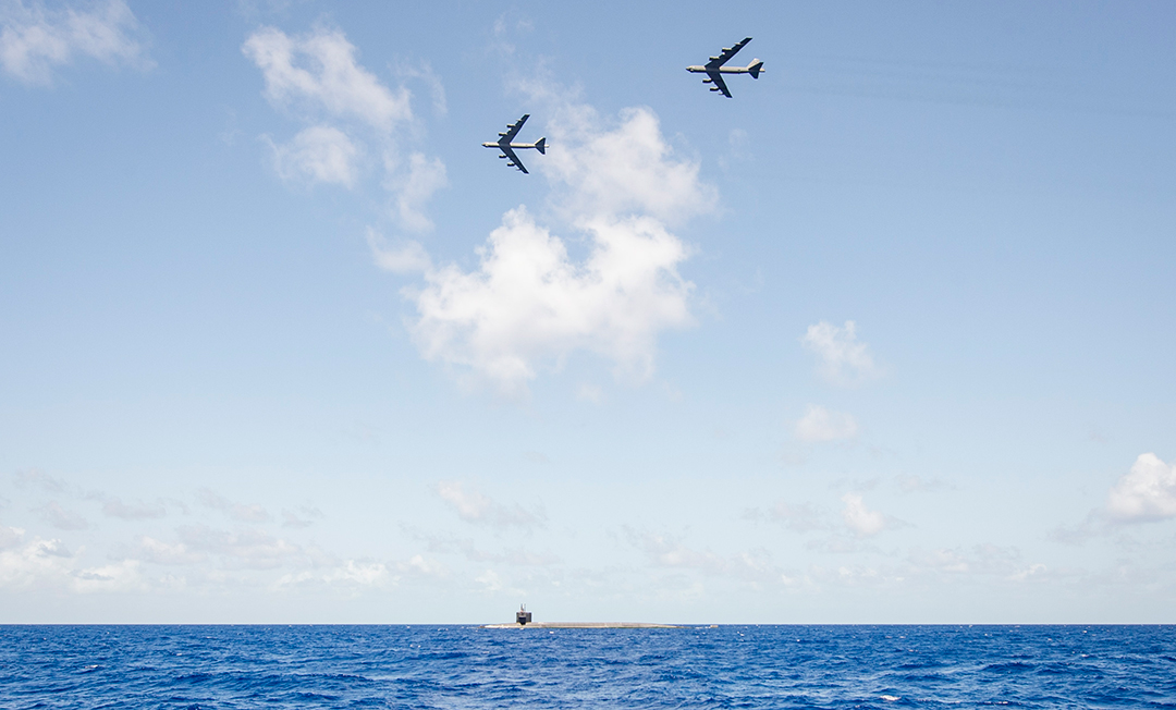 Global Storm menyoroti interoperabilitas penangkalan strategis A.S.