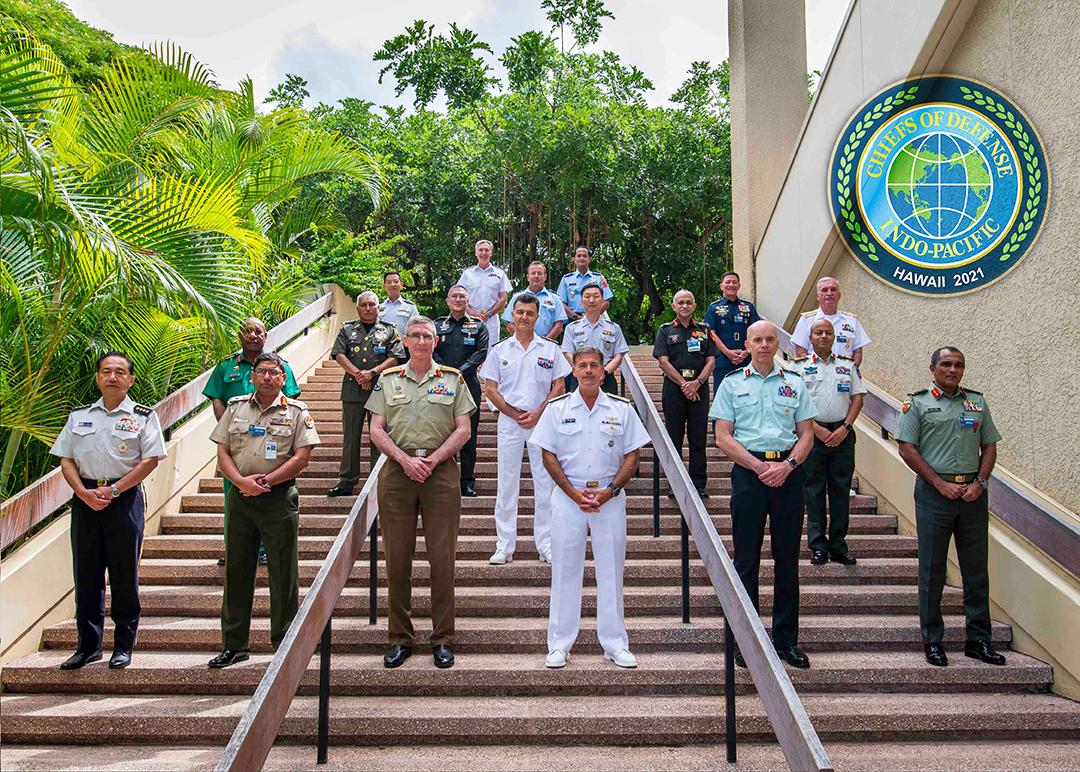 同地域の同盟・提携国19ヵ国の上級軍事指導者等がハワイに集合して、第23回年次インド・アジア太平洋諸国参謀総長等会議(CHOD)が開催された。(米インド太平洋軍)