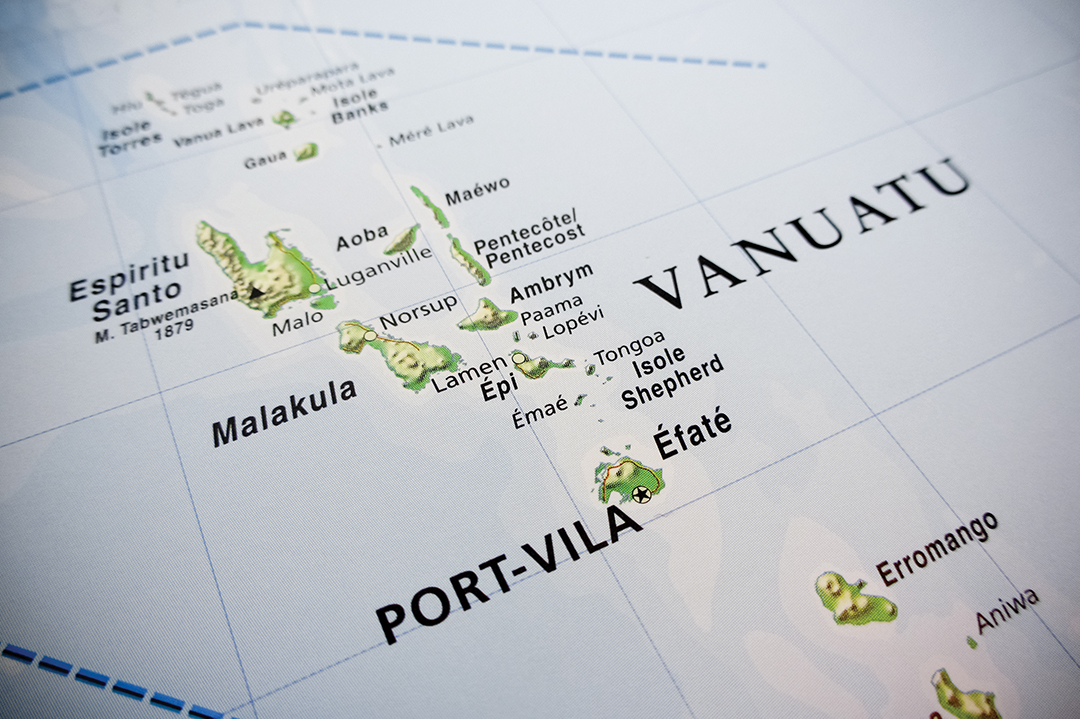 ออสเตรเลีย: ศูนย์รักษาความปลอดภัย จะเปิดทำการในวานูอาตู
