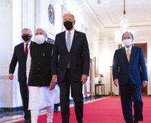 쿼드 지도자, 중국을 경계하며 자유로운 인도 태평양 강조