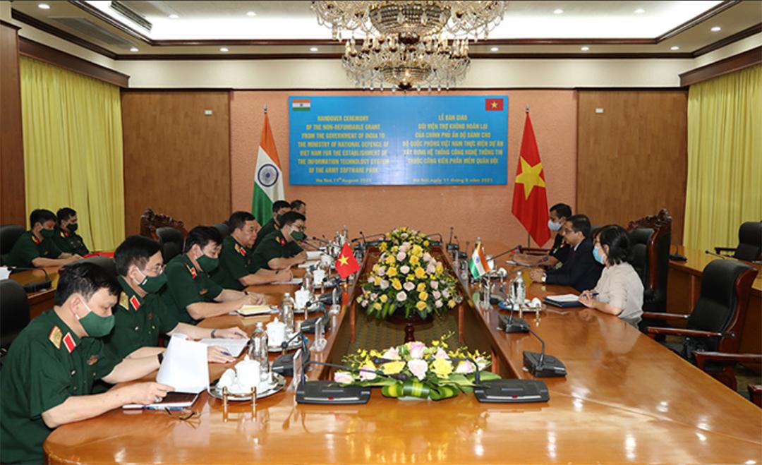印度、越南扩大合作关系,构建国防IT系统