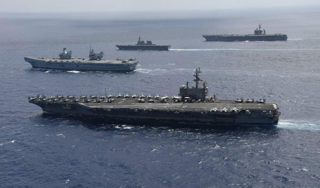 インド太平洋のパートナー国、海洋に関する権利を行使